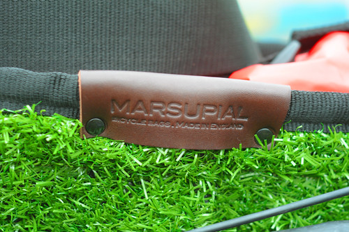 Marsupial Bicycle Bags, Grass Shopper