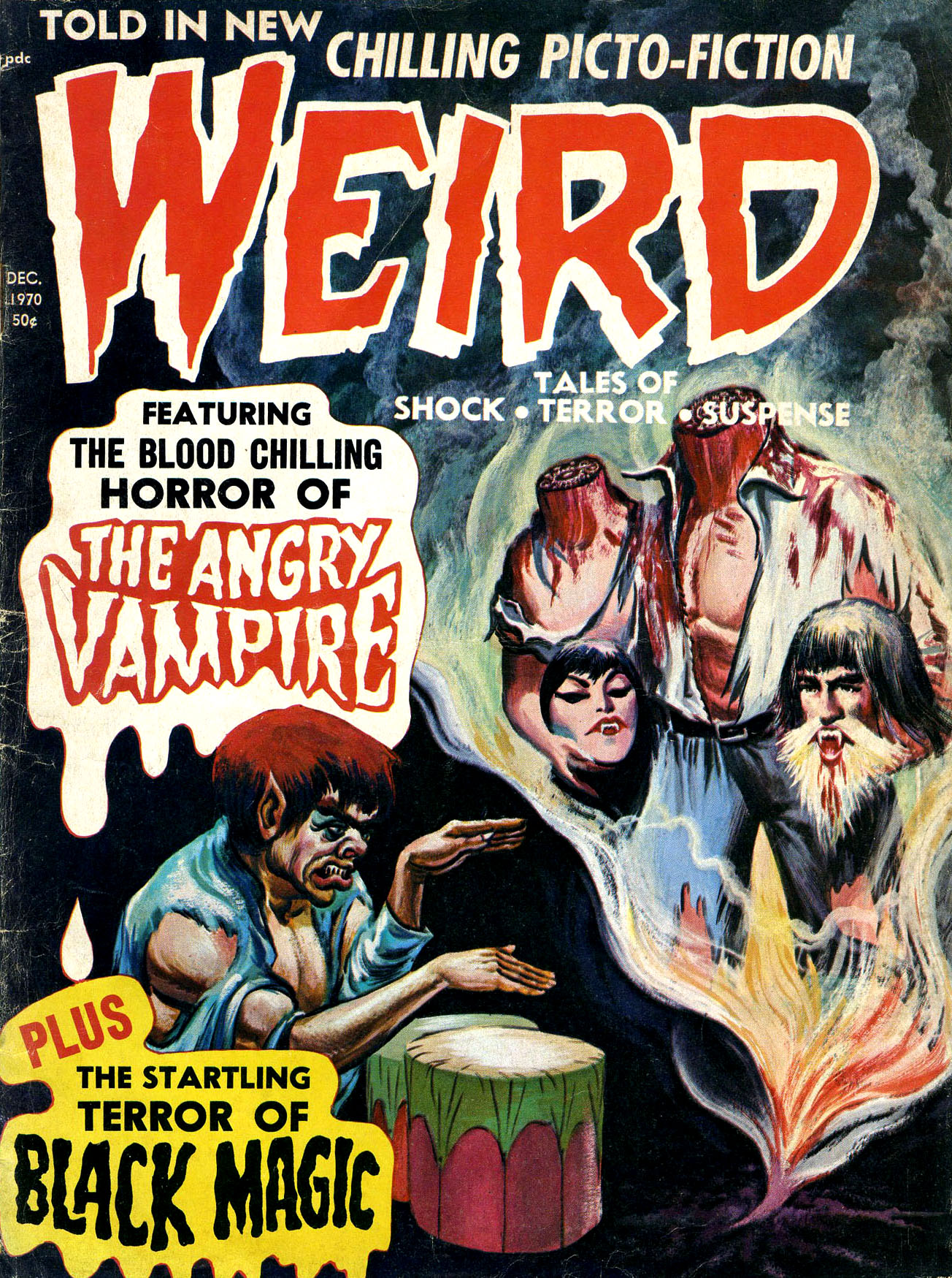 Weird Vol. 04 #6 (Eerie Publications, 1970)