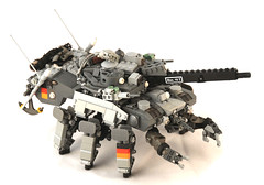 CEC Sleipnir (Mechanekton) Tags: tank lego space military machine armor scifi vehicle guns turret mecha mech