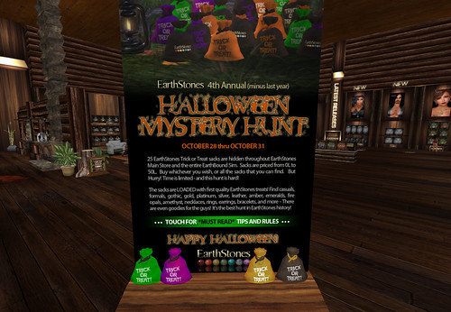 Halloween Mistery Hunt - EarthStones by Cherokeeh Asteria