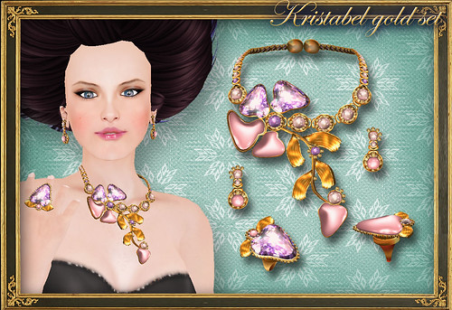 KRISTABEL gold set