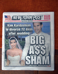 Cover Story:  New York Post, 11.01.11