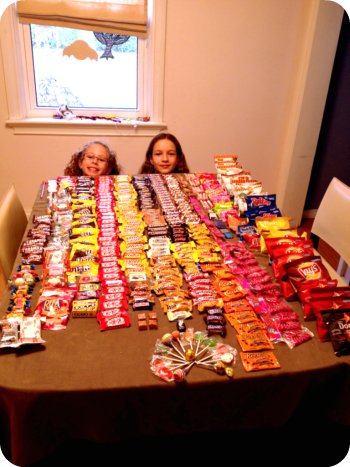 Halloween inventory