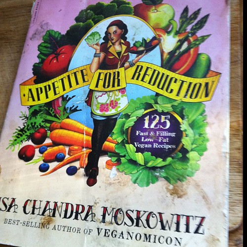 A well loved cookbook