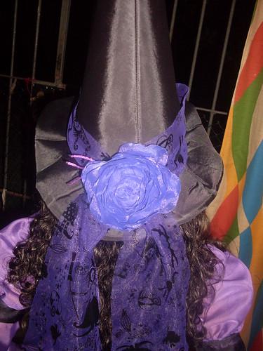 Detalhe do chapéu da bruxa!