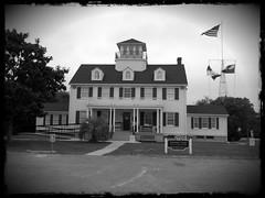 Historic Coast Guard Station at St. Simons Island