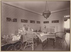 girl's room (1921) (indigo_mint) Tags: old 1920s house girl vintage germany deutschland photo doll interior room hamburg crib deutsch 1921 girlsroom 20er 20erjahre 1920er