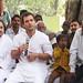Rahul Gandhi in village chaupal, Sant Ravidas Nagar (7)