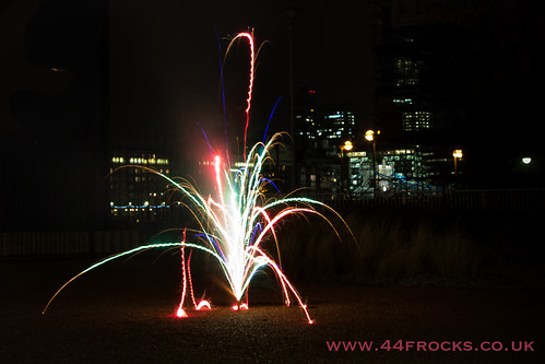 Bonfire night with firework frocktails at 44 Frocks