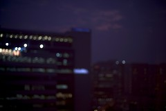 lost in translation (~*~...nicole...~*~) Tags: india blur window hotel view hyderabad 11311 blartsy 2011yip