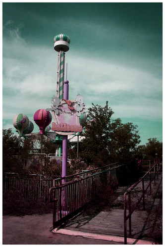 Abandoned Six Flags NOLA