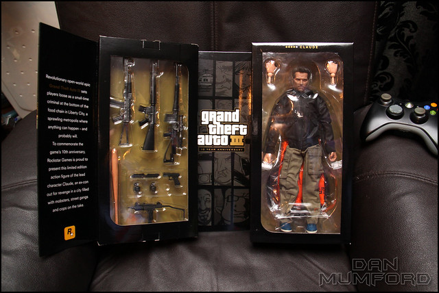 GTA III Anniversary Limited Edition Claude Action Figure