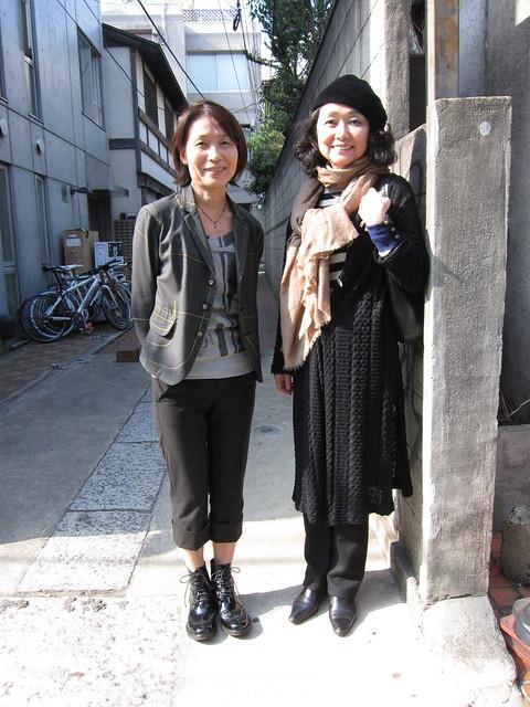 Sayoko and Junko