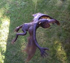Freaky Rubber Bat-Like Creature (Hong Kong) (Rat Dragon) Tags: monster vintage bat rubber hong kong 70s creature jiggler