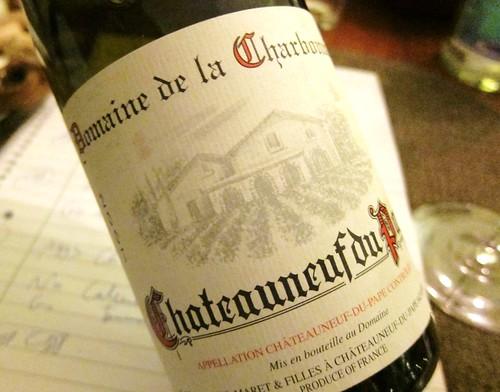2007 Domaine de la Charbonnière