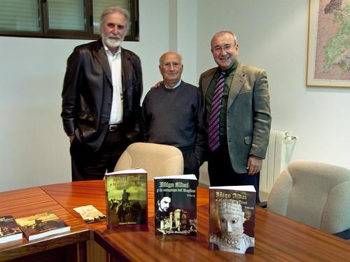 con los escritores