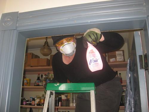 2011 11 05 Pantry ceiling 007