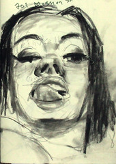 draw365 No. 552 (blugumbo) Tags: art moleskine drawing charcoal