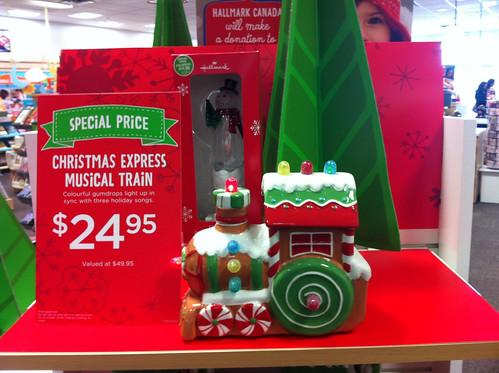 Hallmark Christmas Express Musical Train