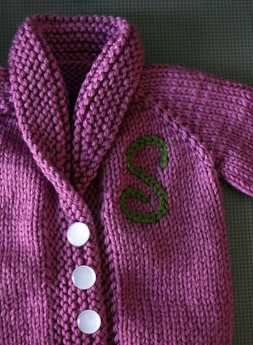 Sylvie's Baby Sweater