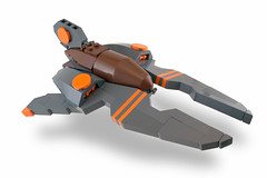 VVNn-004 (Titolian) Tags: orange brown wings fighter lego space attack future vic fin viper bley nnenn
