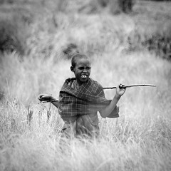 Masa Boy, Ngorongoro, Tanzania (monsieur I) Tags: world poverty africa travel people kids canon tanzania masai canoneos7d monsieuri
