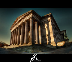 St George's Hall Panorama (Richard Deane) Tags: panorama liverpool photoshop columns landmark fisheye nik hdr topaz stgeorgeshall photomatix flickraward mygearandme mygearandmepremium mygearandmebronze mygearandmesilver mygearandmegold