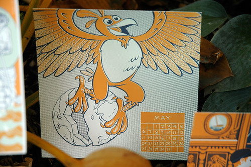 2012 Calendar of the Impending Apocalypse: MAY by Ape Lad