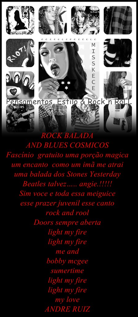 ROCK BALADA AND BLUES COSMICOS