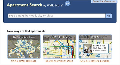 Apartment Search (by: Walk Score)