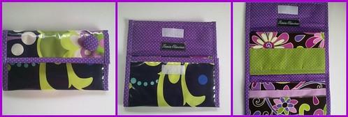 Carteira para cartões, notas e Moedas em PVC by ♥Linhas Arrojadas Atelier de costura♥Sonyaxana