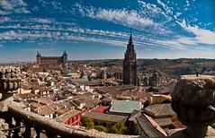 pano of Toledo (1yen) Tags: panorama photoshop spain panoramic unescoworldheritagesite unesco worldheritagesite toledo espaa 4exp castilelamancha
