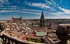 pano of Toledo (1yen) Tags: panorama photoshop spain panoramic unescoworldheritagesite unesco worldheritagesite toledo espa–a 4exp castilelamancha