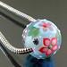Charm bead : Aqua-Blue garden
