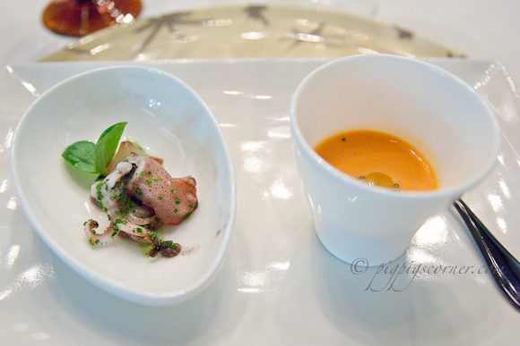 Santi @ Marina Bay Sands, Singapore-amuse bouche