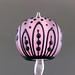 Single bead : Pink leaf