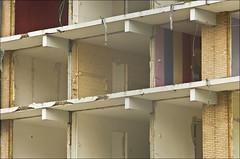 Voyeurism (Rense Haveman) Tags: street city urban home demolition ede flatbuilding pentaxk5