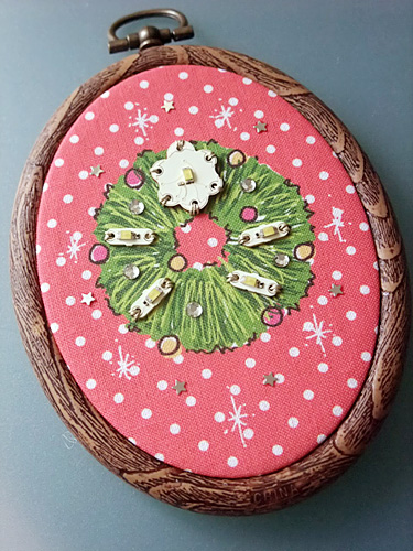 X'mas wreath frame