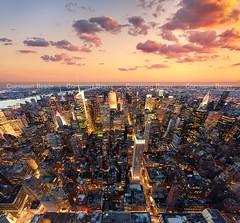 New-York city (Beboy_photographies) Tags: new york sunset fish newyork eye canon de soleil mark manhattan coucher fisheye ii 5d capitale soir crpuscule nuit hdr ville 5dmarkii