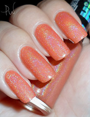 Hits Demeter (prwnkl) Tags: orange hits holographic  holo  hologrfico