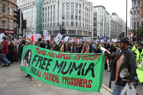 From flickr.com: Mumia Abu-Jamal, political prisoner since 1981, dying and denied medical treatment. {MID-134652}