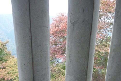 二重櫓からの紅葉