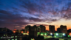 The End Of Day (muhammad.ezzat) Tags: sunset cityscape egypt cairo slowshutter bluehour nikond90 ezzatadnan