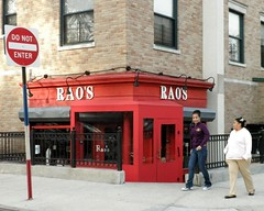 Rao's Italian Restaurant, East Harlem, New York City (jag9889) Tags: street city nyc red ny newyork cuisine restaurant italian harlem manhattan scene east eastharlem elbarrio spanishharlem neapolitan raos 2011 pleasantavenue 114street y2011 jag9889