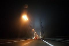 indistinct (Alex Jacek) Tags: bridge sea denmark sweden schweden baltic brcke dnemark ostsee resund oeresund resundsbro