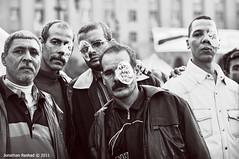 Injured earlier in Jan28 (Jonathan Rashad) Tags: square demo march stand muslim protest egypt demonstration cairo revolution egyptian brotherhood mb uprising مصر tahrir ميدان intifada millionman islamists jan25 التحرير ikhwan الثورة المصرية