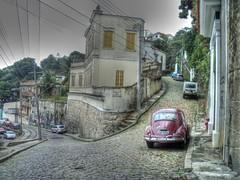 Streets in Santa Teresa Rio de Janeiro... (vaskovip) Tags: santa street brazil art rio digital de photography photo flickr janeiro sony award cybershot teresa hdr flickrphoto s2100