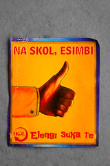 284:365 (jasonjoyce) Tags: beer paper label congo skol kinshasa 2011 project365 lingala blinkagain