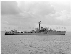 HMS Obdurate (Image Ref: warship3444) (ww2images) Tags: destroyer 1956 battleship warship royalnavy waratsea obdurate navyphoto britishships hmsobdurate warshipimages warshipimagescom warshipphotos