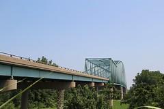 Cairo I-57 Bridge (cmh2315fl) Tags: illinois cairo missouri mississippiriver archbridge i57 trussbridge mississippicounty alexandercounty archtruss througharchbridge trussedthrougharch